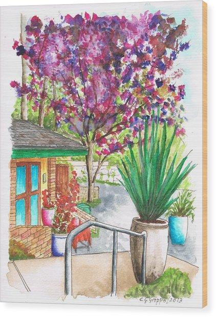 The Arboretum Gift Shop In Arcadia-california Wood Print