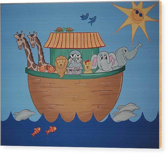 The Ark Wood Print