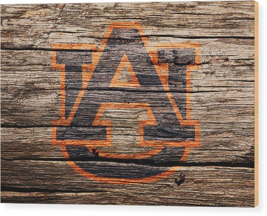 The Auburn Tigers 1a Wood Print