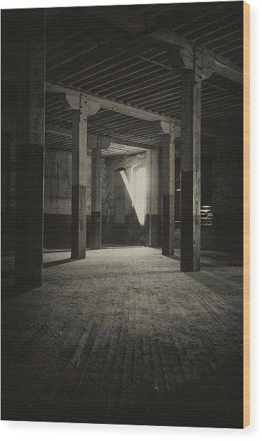 The Back Room Wood Print