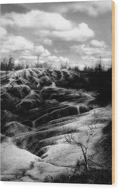 The Badlands 2 Wood Print by Cabral Stock