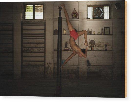 The Balance Wood Print