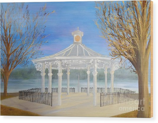 The Bandstand Basingstoke War Memorial Park Wood Print