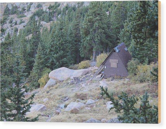 The Barr Trail A Frame Wood Print