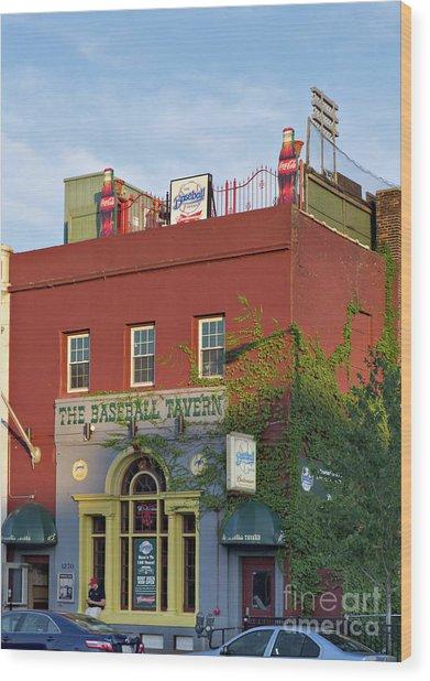 The Baseball Tavern Boston Massachusetts  -30948 Wood Print