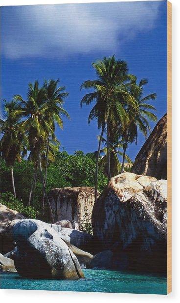 The Baths. British Virgin Islands Wood Print