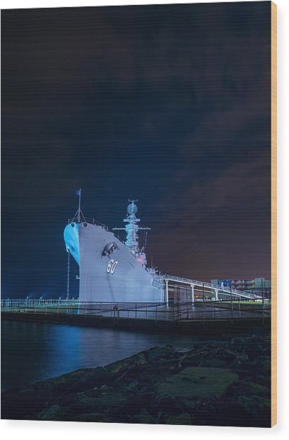 The Battleship 2 Wood Print