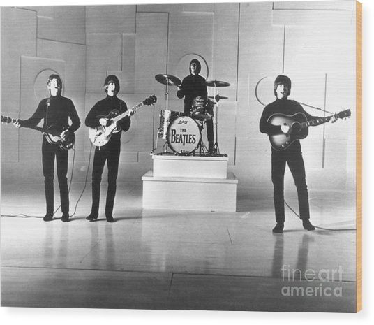 The Beatles, 1965 Wood Print