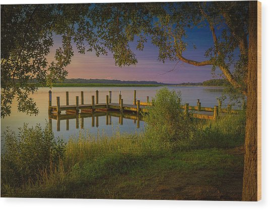The Beautiful Patuxent Wood Print