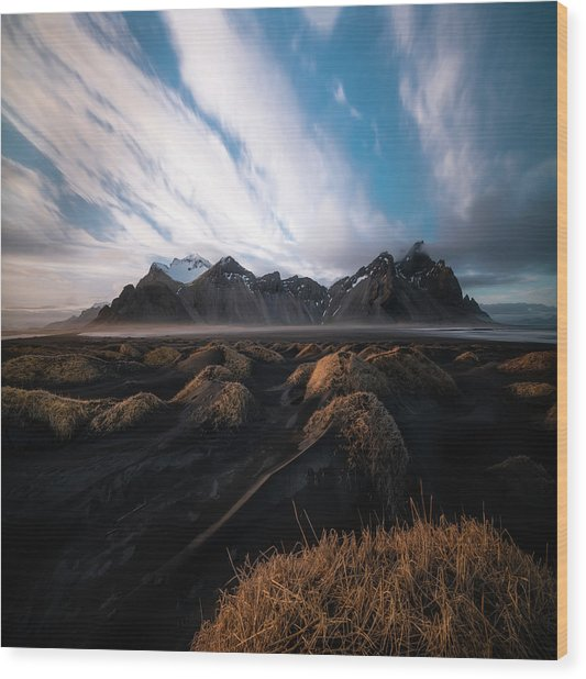 the Beauty of Iceland Wood Print