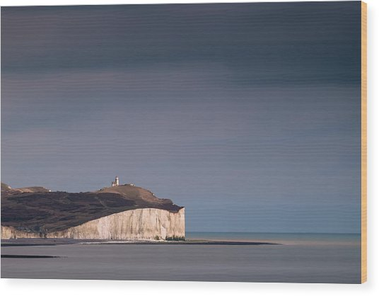 The Belle Tout Lighthouse Wood Print