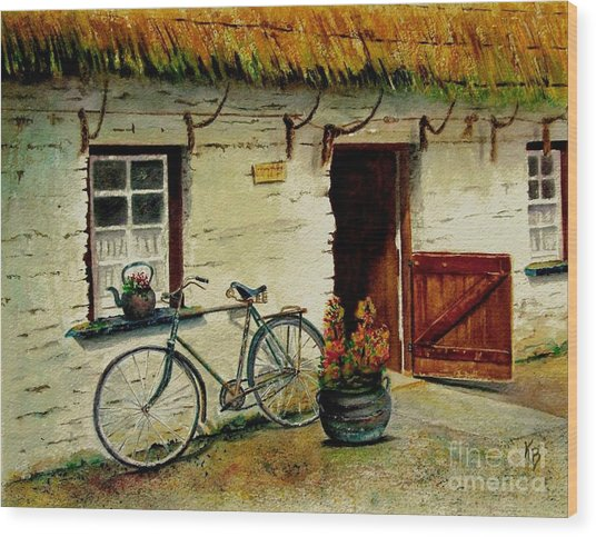 The Bicycle Wood Print