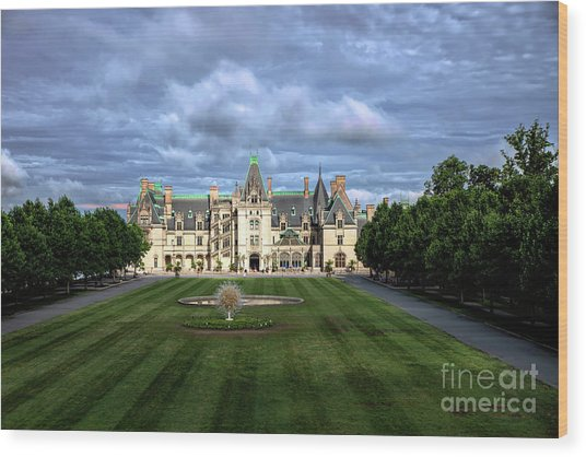 The Biltmore Wood Print