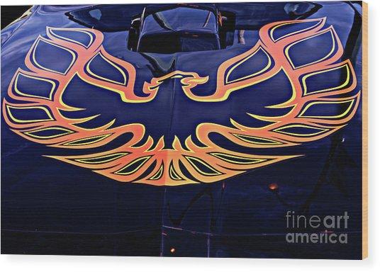 The Bird - Pontiac Trans Am Wood Print