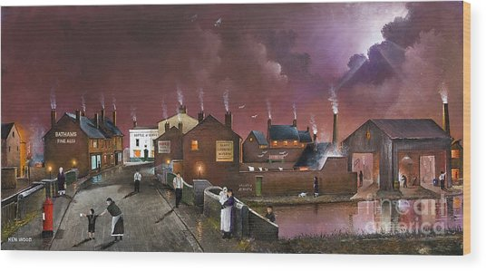 The Black Country Museum Wood Print