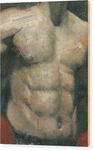 The Boxer Wood Print