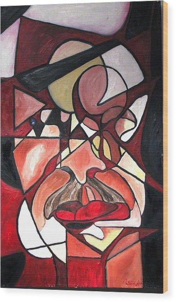 The Brain Surgeon  Wood Print by Patricia Arroyo