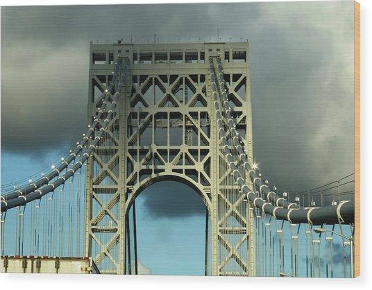 The Bridge Wood Print by Paul SEQUENCE Ferguson             sequence dot net