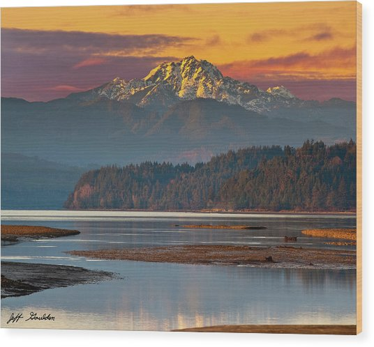 The Brothers From Hood Canal Wood Print