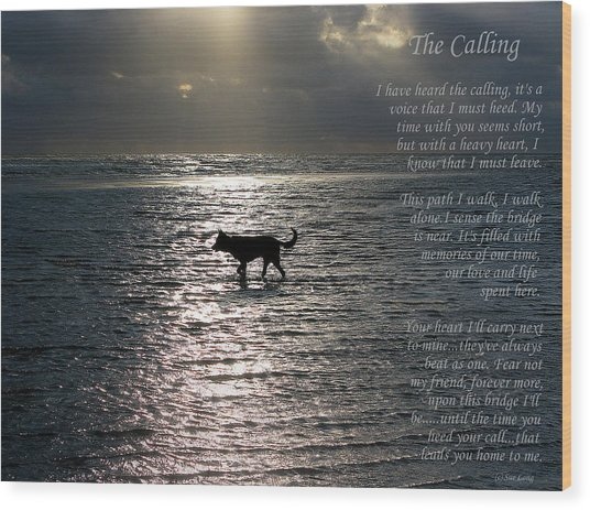 The Calling  Version Two Wood Print
