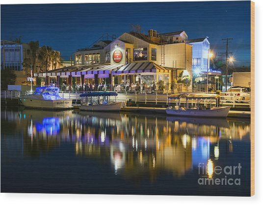 The Cannery Restaurant Wood Print