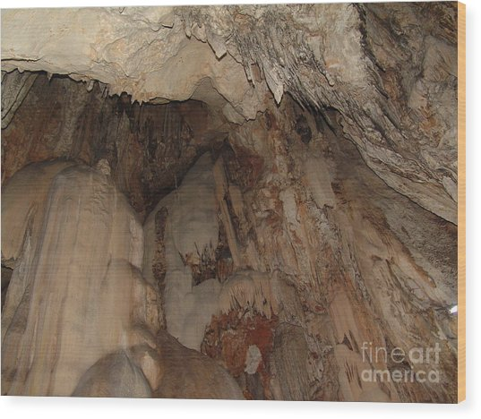 The Cave Wood Print by John Johnson