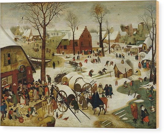 The Census At Bethlehem Wood Print