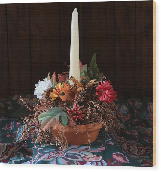 The Centerpiece Wood Print