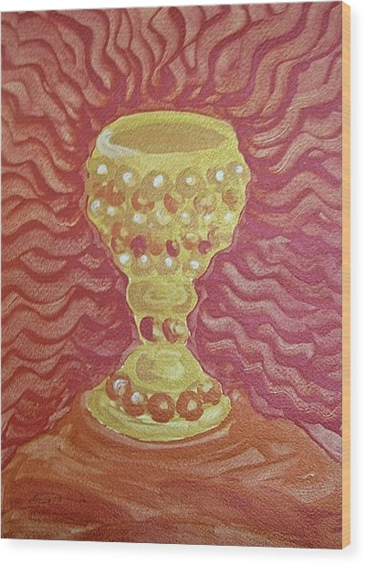 The Chalice Or Holy Grail Wood Print