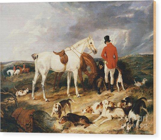 The Change, 1823 Wood Print