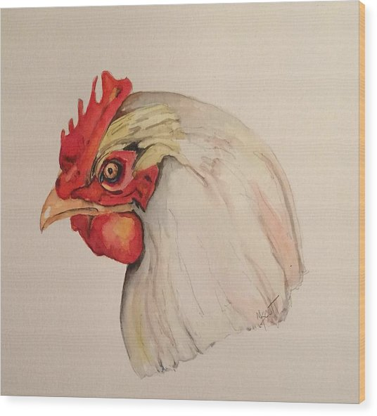 The Chicken Wood Print