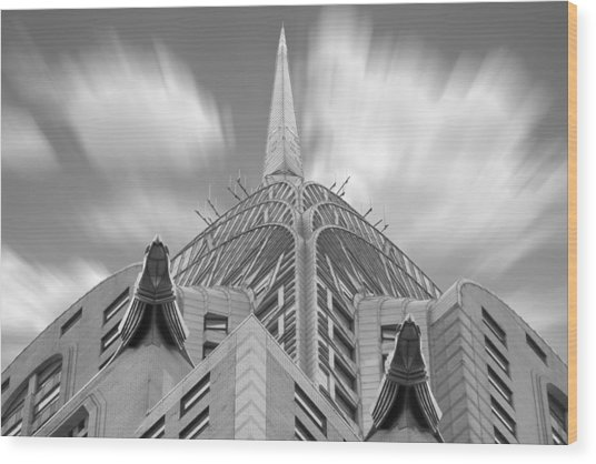 The Chrysler Building 3 Wood Print