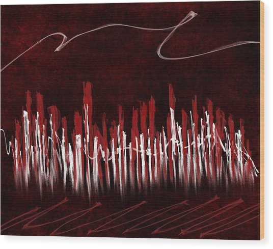 The City Of My Dreams Wood Print