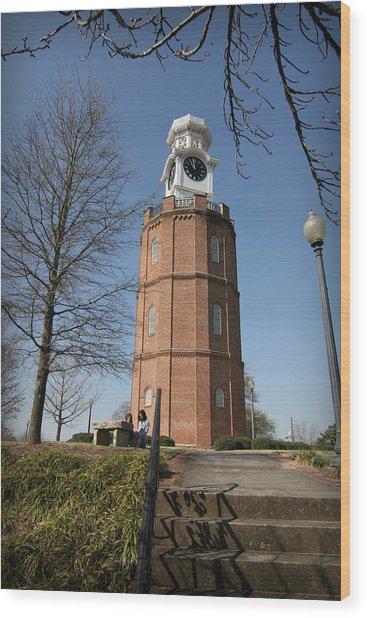 The Clocktower Wood Print