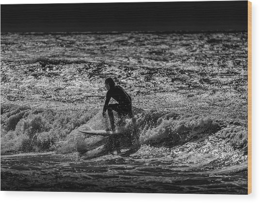 The Close Out Wood Print