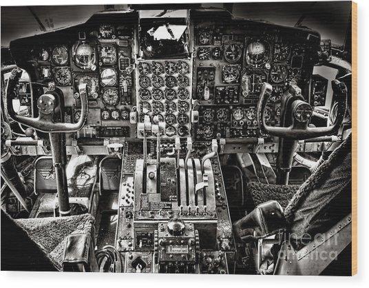 The Cockpit Wood Print