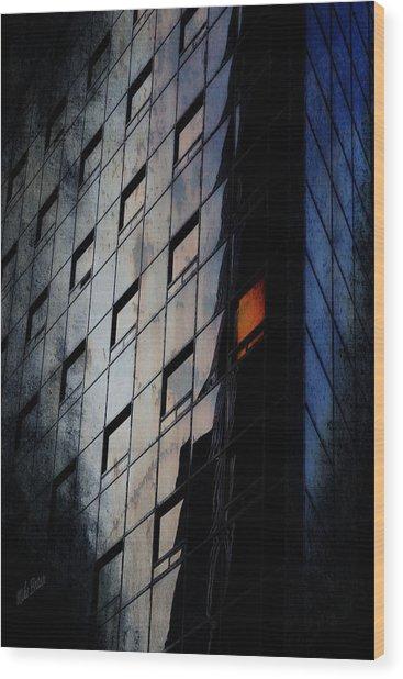 The Corporate Batcave Wood Print