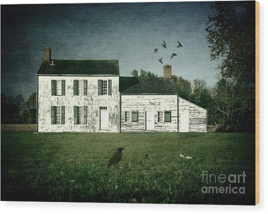 The Craig House II Wood Print