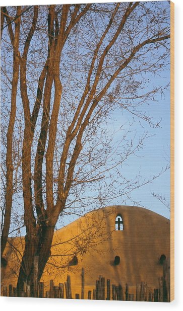 The Cross Wood Print by Lynard Stroud