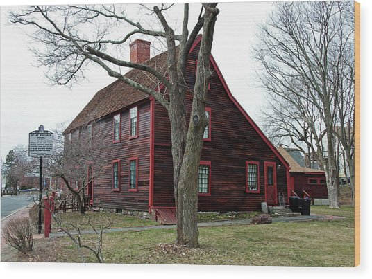 The Deane Winthrop House Wood Print
