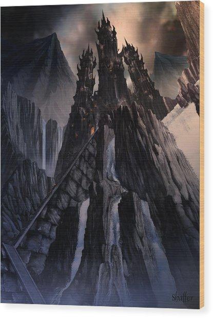 The Dragon Gate Wood Print