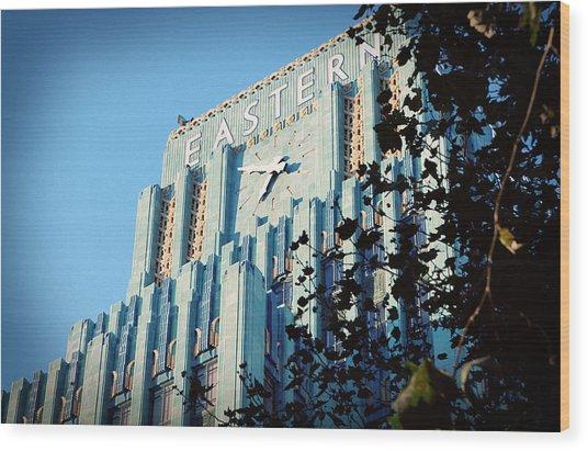 The Eastern Building Wood Print by Ariane Moshayedi