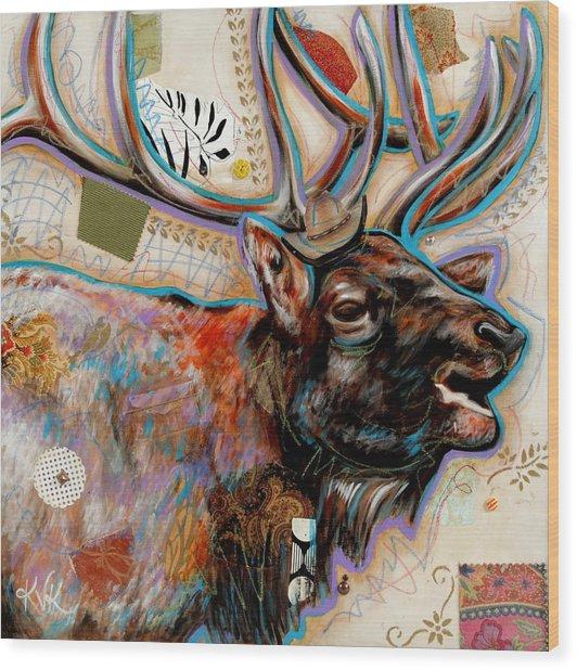 The Elk Wood Print