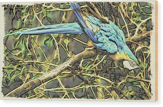 The Enchanted Jungle Wood Print