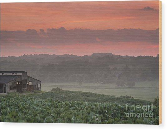 The English Landscape 2 Wood Print