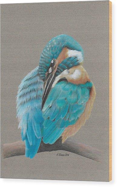 The Fisherking Wood Print