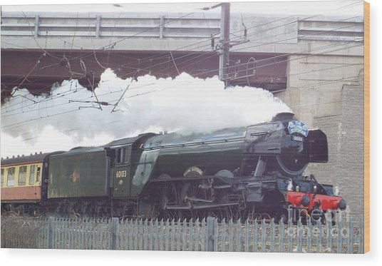 The Flying Scotsman Wood Print