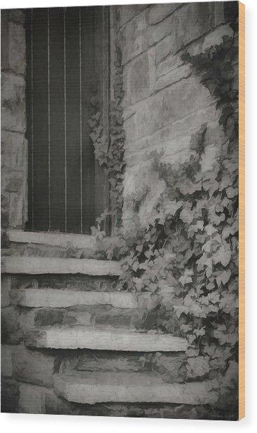 The Forgotten Door Wood Print