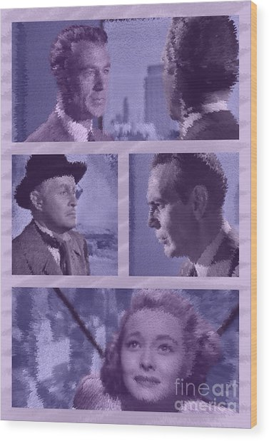 The Fountainhead Poster Wood Print