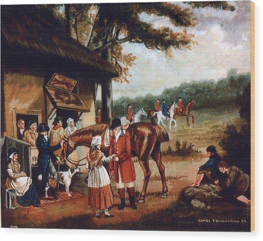 The Fox Inn Wood Print by James Richardson